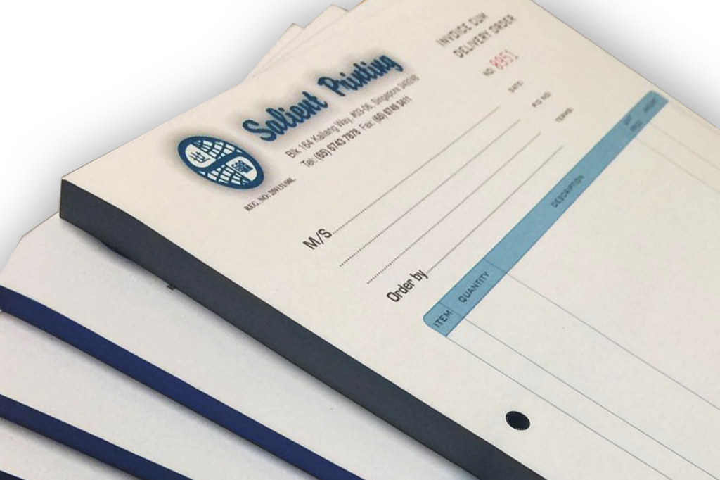 NCR INVOICING BOOKLET PRINTING